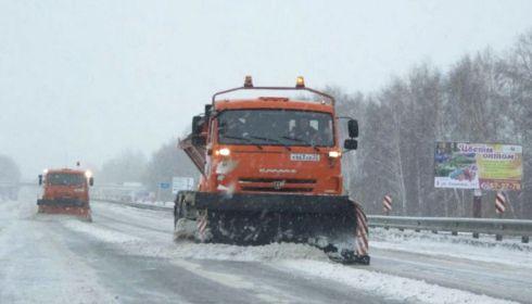 Около тысячи машин подготовили для очистки трасс от снега в Алтайском крае