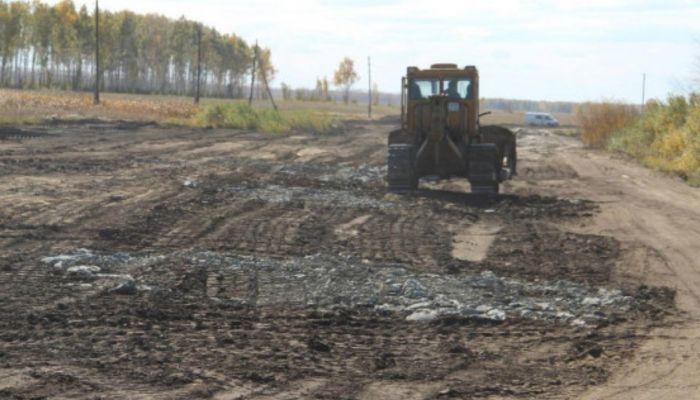 Алтайские дорожники нашли человеческие останки в песчаном карьере