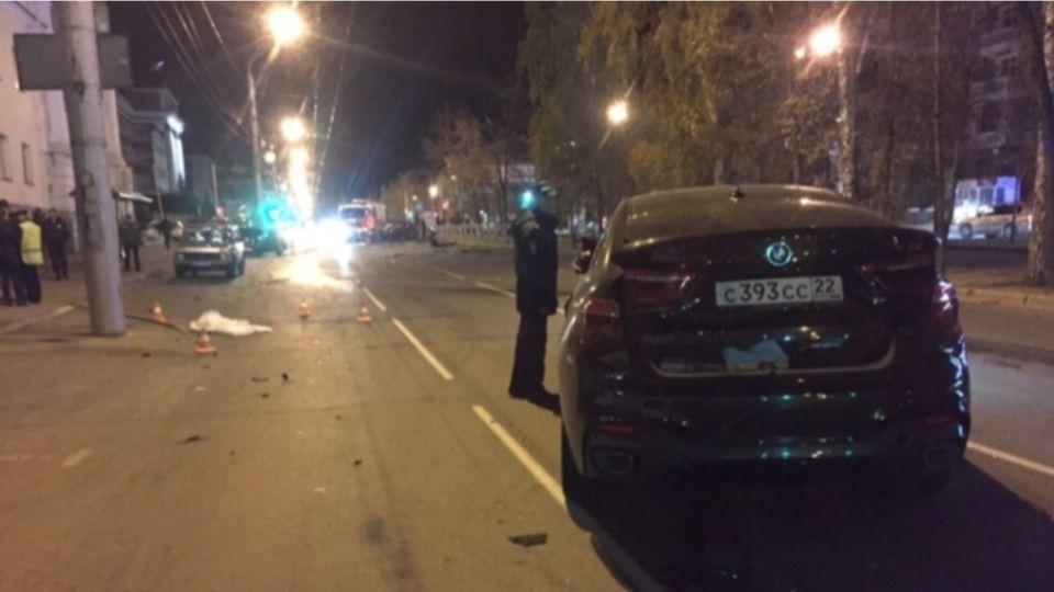 Место ДТП с BMW Руденко