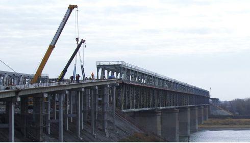 Как идет ремонт Старого моста в Барнауле и когда ждать его открытия