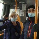 Одно нарушение: Роспотребнадзор проверил масочный режим в транспорте Барнаула