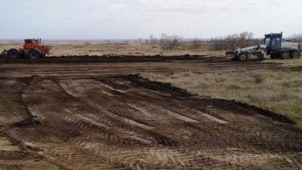 В районе Алтайского края строят вертолетную площадку медицины катастроф