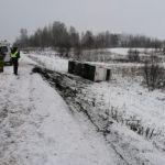 В ДТП с автобусом на трассе Бийск-Новокузнецк пострадало 8 человек