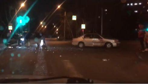 В полиции рассказали подробности ДТП на перекрестке в Барнауле