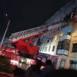 В Бийске потушили пожар в многоквартирном жилом доме