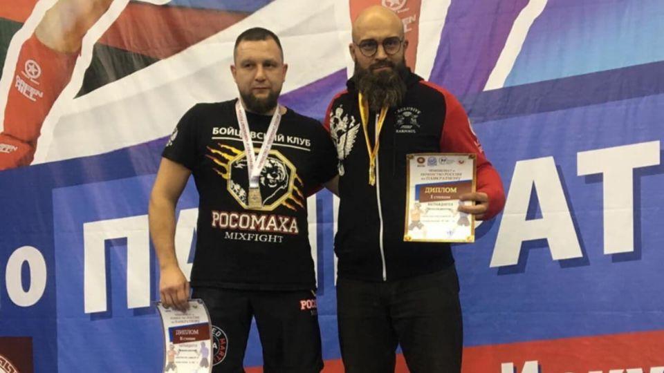 Барнаулец стал семикратным чемпионом России по панкратиону
