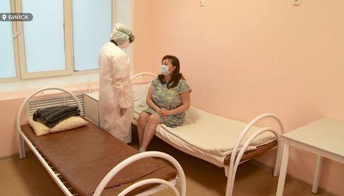Ковидный госпиталь развернут в инфекционном отделении ЦГБ Бийска