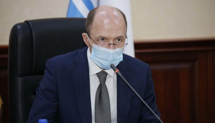 Губернатор Республики Алтай Олег Хорохордин заразился коронавирусом
