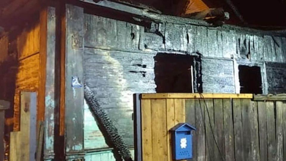 СК показал видео с пожара, при котором погибли пять детей