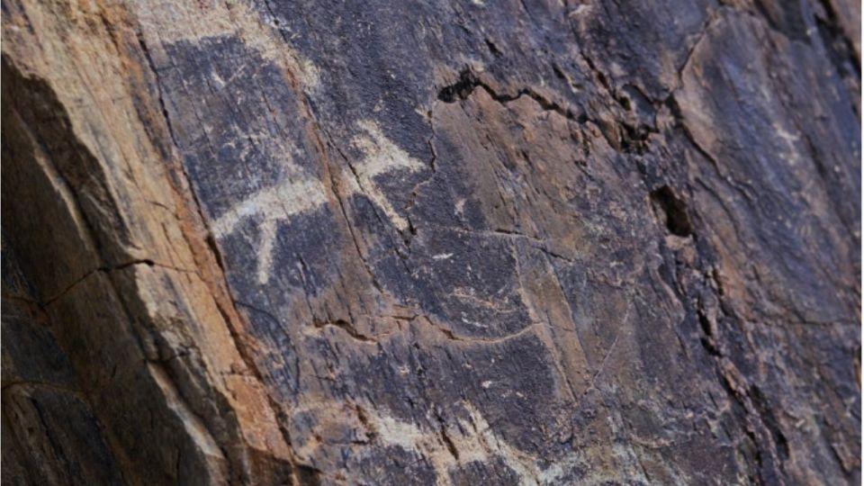 Уникальные петроглифы с изображениями юрт тюркских народов нашли на Алтае