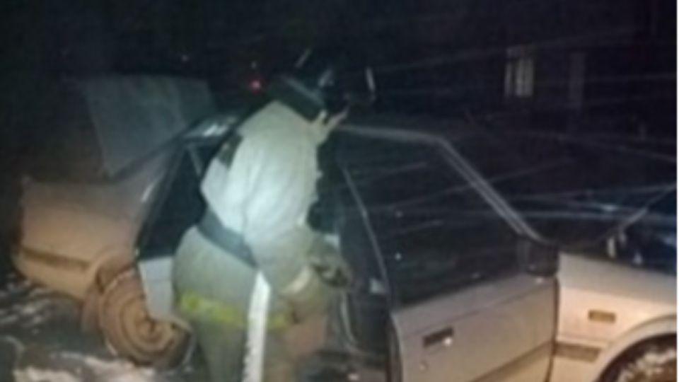 Два отечественных автомобиля сгорели в Алтайском крае за сутки