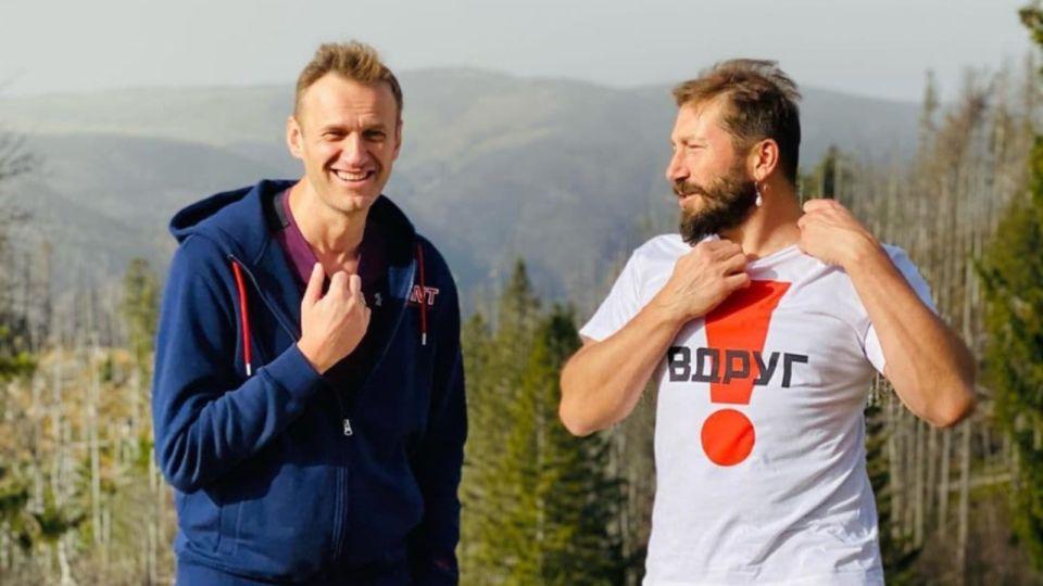 """Алексей Навальный опубликовал фото на фоне """"алтайских гор"""""""