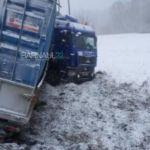 Фура слетела с трассы в двойном ДТП в Алтайском крае