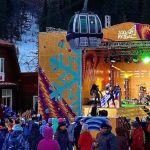 Около 300 лыжников и сноубордистов открыли горнолыжный сезон в Шерегеше