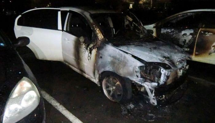 Барнаульские полицейские задержали подозреваемого в поджоге автомобиля