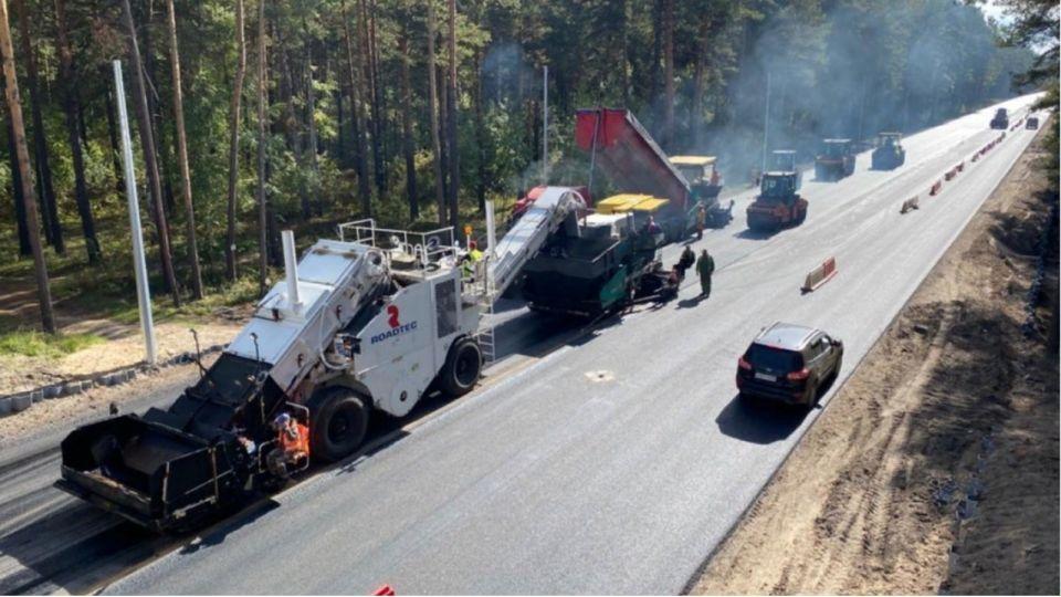 Около 900 км дорог отремонтировали в Алтайском крае в 2020 году