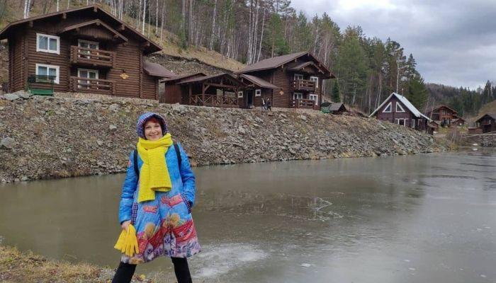 Какая природа!: звезда Бумера Оксана Сташенко побывала на Алтае