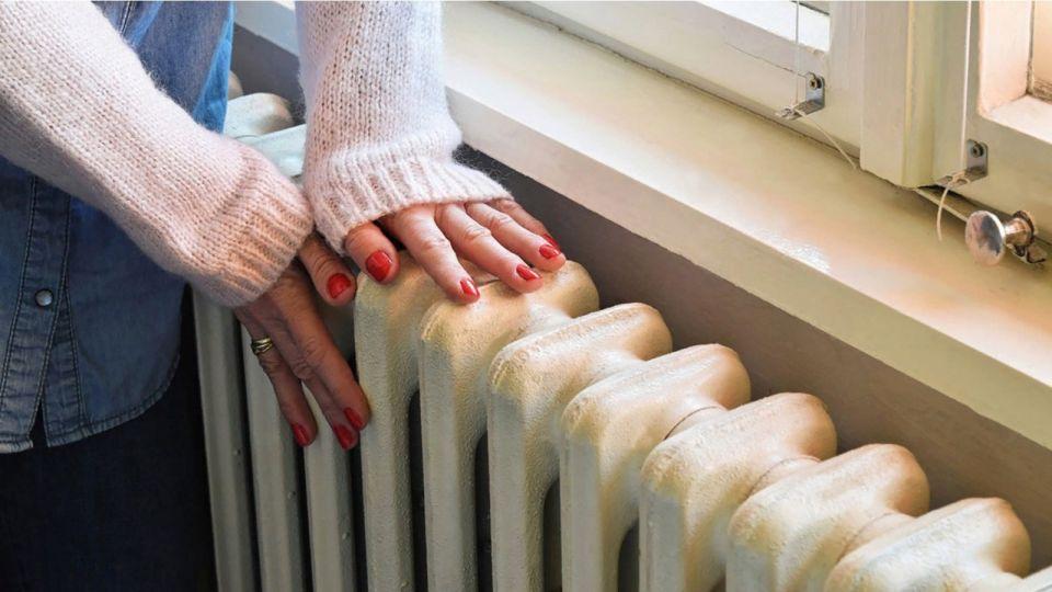 Отопление. Батарея. Тепло