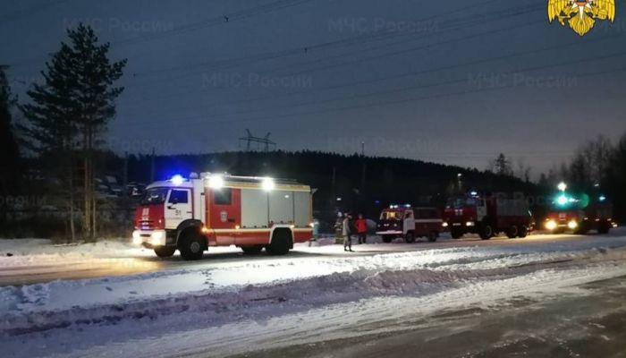 Десять человек пострадали в ДТП с автобусом в Сибири