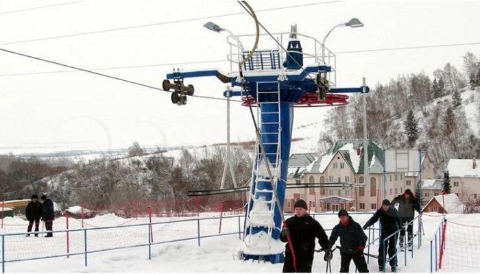 В Алтайском крае продают горнолыжный комплекс с канаткой за 90 млн рублей