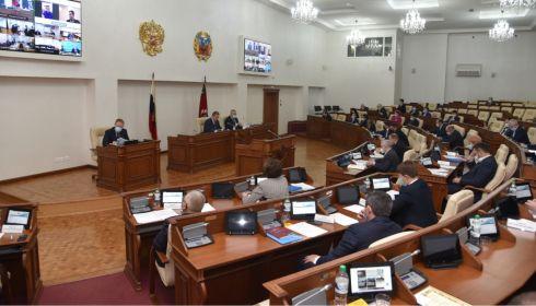 Бюджет, патенты, омбудсмен: какие решения приняли краевые депутаты в ноябре