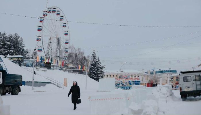 Где в Барнауле перекроют улицы из-за новогодних городков