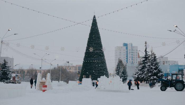 Проезд закрыт: дорогу на площади Сахарова откроют к середине января