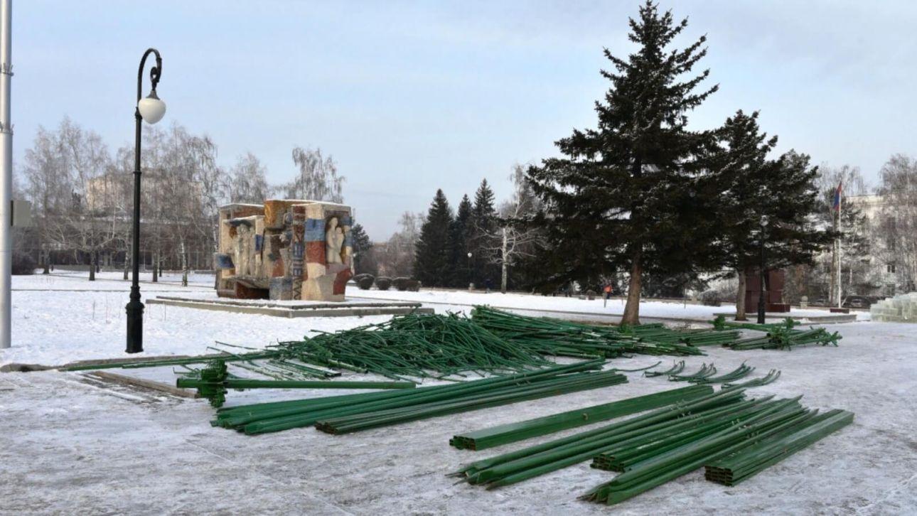 16,7 млн рублей потратят на праздничный городок на площади Сахарова