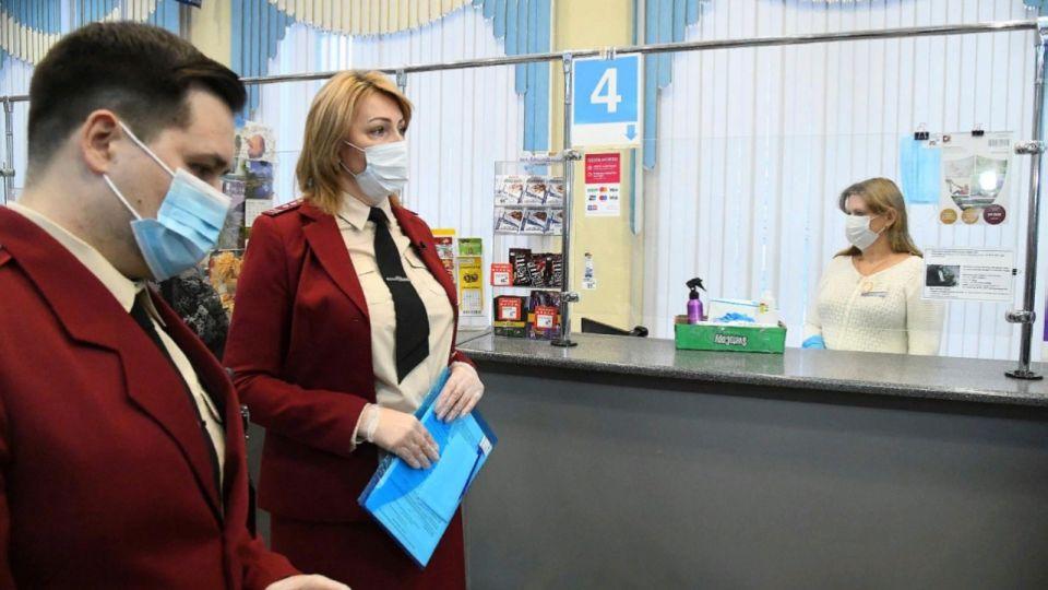 Почтовые отделения Барнаула проверяют на скопление людей