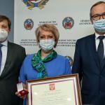 Медработникам Алтайского края вручили государственные награды