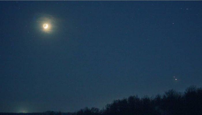 Барнаульский фотограф сделал уникальные снимки сближения Юпитера и Сатурна