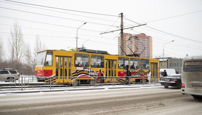 Первый канал показал сюжет про беспилотный трамвай в Барнауле