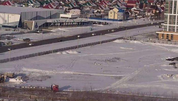 В Барнауле начато строительство 23-этажки на Солнечной поляне