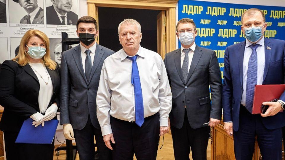 ЛДПР на Алтае получит поддержку федерального центра партии