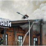 На популярном алтайском курорте Манжерок произошел пожар