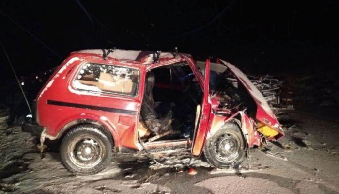 Двое человек погибли во время лобового ДТП на Чуйском тракте