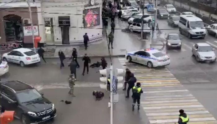 Братья-пекари напали на полицейских в центре Грозного