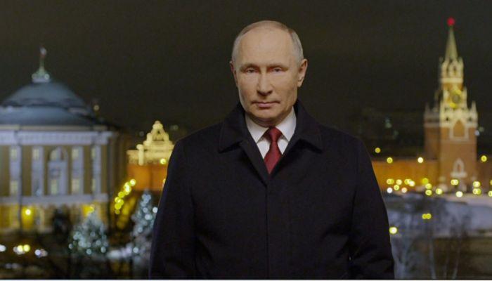 Если пропустили: новогоднее обращение президента России Владимира Путина