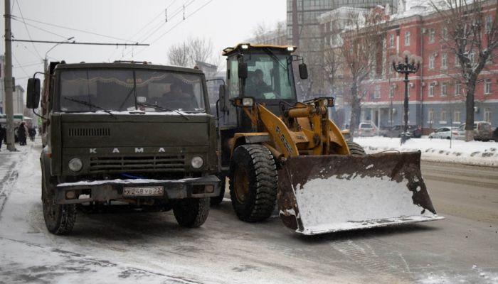 Дорожники Барнаула в праздники будут работать круглосуточно