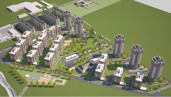 Жилой квартал с 24-этажками возведут  у кладбища в Барнауле