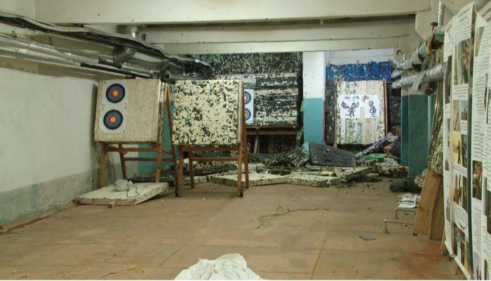 Барнаульские лучники остались без снаряжения из-за потопа в клубе