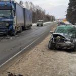 Два человека погибли в ДТП с грузовиком в Новосибирской области