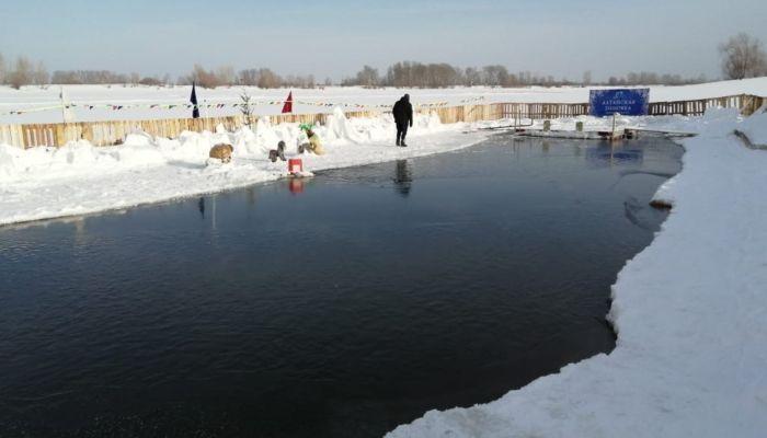 В Барнауле появилась еще одна прорубь для крещенских купаний