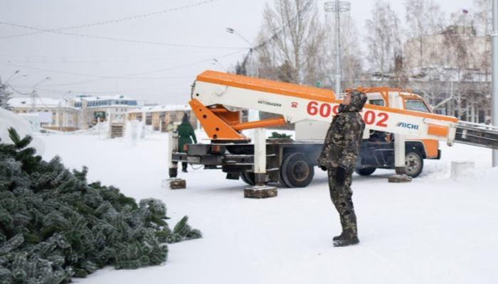 На площади Сахарова в Барнауле открыли проезд для транспорта