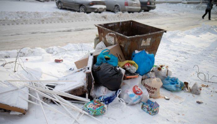Алтайский край попал в список регионов, где плохо вывозили мусор на праздниках