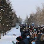 Полиция назвала число участников акции в поддержку Навального в Барнауле