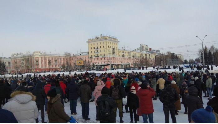 Мэрия Барнаула не согласовала публичный митинг, намеченный на 21 апреля