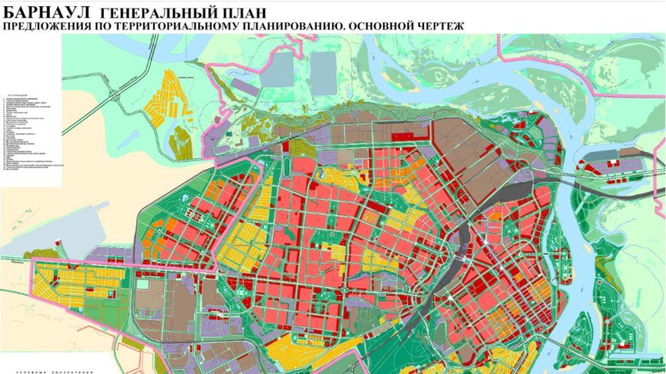 """Строительство жилья к 2030 году сосредоточится около ТРЦ """"Арена"""" в Барнауле"""