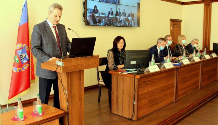 Хороший уровень устойчивости: ректор АлтГУ отчитался за 2020 год