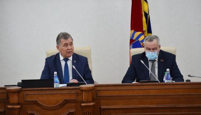 Спикер АКЗС Александр Романенко призвал депутатов вакцинироваться против ковида